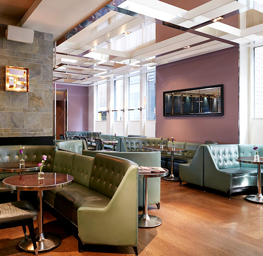 The London Bar & Restaurant at The London NYC Luxury Hotel
